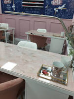 Resin Art Nail Desks for Beauty Salon Thumbnail
