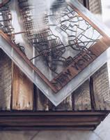 Resin Encased New York Map Thumbnail