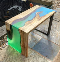Wood and Resin River Tables Thumbnail