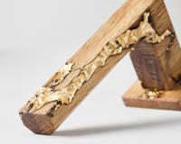 Studio-number-10-gold-wood-and-resin-door-handle Thumbnail
