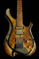 Syrtis (Bengal) Wood and Resin Guitar Thumbnail