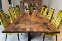 Walnut-Resin-River-Table-Manor-Wood-Designs Thumbnail