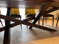 Walnut-Table-Manor-Wood-Designs-X-frame-legs Thumbnail