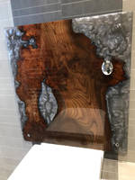 Wood and Resin Cistern Cover by AW Epoxy Design Thumbnail