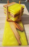 Yellow Coaster Stack Thumbnail