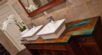 twin-sink-countertop-jaded-copper-project Thumbnail
