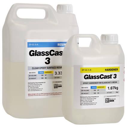 GlassCast 3 Penny Floor Resin - 5kg Kit
