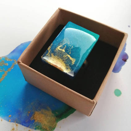 Karen Mackay Designs Resin Ring