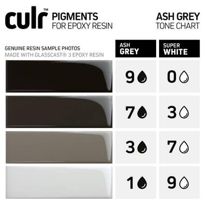 Ash Grey CULR Pigment Tone Chart
