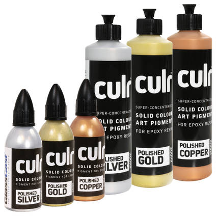 CULR Set of 3 Metallic Pigments