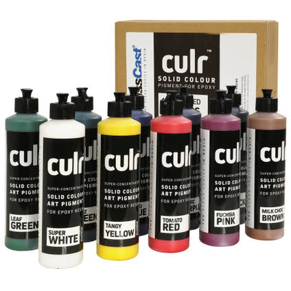 CULR Epoxy Pigment - 10 Colour Trade Set (10x200ml)
