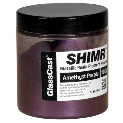 SHIMR Metallic Resin Pigment - Amethyst Purple 100g