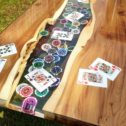 Poker Table by Elysian Designs