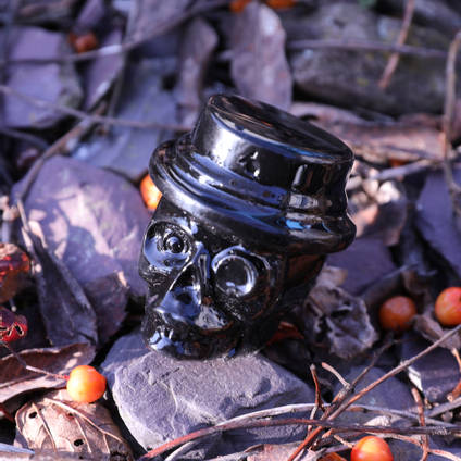 Resin Skull Casting with Jet Black CULR Epoxy Pigment