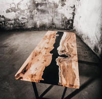 Black River Table by Resin Edge Thumbnail