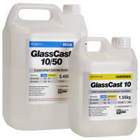 GlassCast 10 Clear Epoxy Casting Resin - 5kg Kit THUMBNAIL
