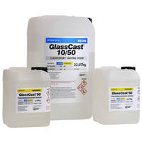 GlassCast 50 Clear Epoxy Casting Resin - 32g Kit THUMBNAIL