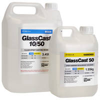 GlassCast 50 Clear Epoxy Casting Resin - 5kg Kit THUMBNAIL