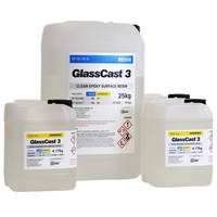 GlassCast 3 Clear Epoxy Coating Resin - 37.5kg Thumbnail