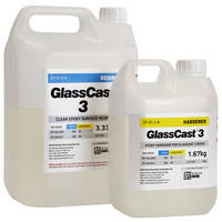 GlassCast 3 Clear Epoxy Coating Resin - 5kg Thumbnail