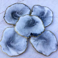 Grey Curved Coasters using GlassCast 3 by Luna-Art-Resin Thumbnail