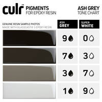 Ash Grey CULR Pigment Tone Chart Thumbnail