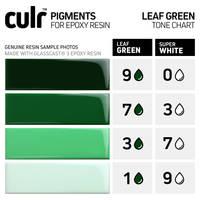 CULR Epoxy Pigment - Leaf Green Tone Chart Thumbnail
