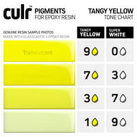 CULR Epoxy Pigment - Tangy Yellow Tone Chart Thumbnail