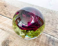 Resin Rose Paperweight by E.B Flower Preservation Thumbnail